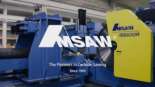 AMSAW - The Pioneers in Carbide Sawing since 1969