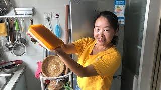 媳妇做懒人版凉糕,扔一块南瓜,倒一碗牛奶,清爽弹牙,比雪糕还好吃
