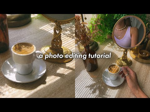 , title : 'a photo editing tutorial on my visual aesthetic