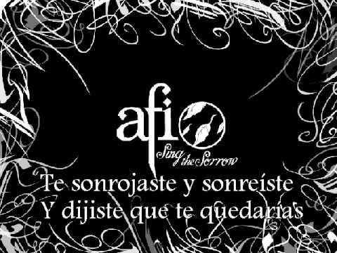 AFI - Kiss And Control (Subtitulos Español)