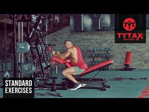 Cable Reverse Wrist Curl | TYTAX® M2