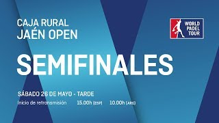 Semifinales - Tarde - Caja Rural Jaén Open 2018 - World Padel Tour - Video Youtube
