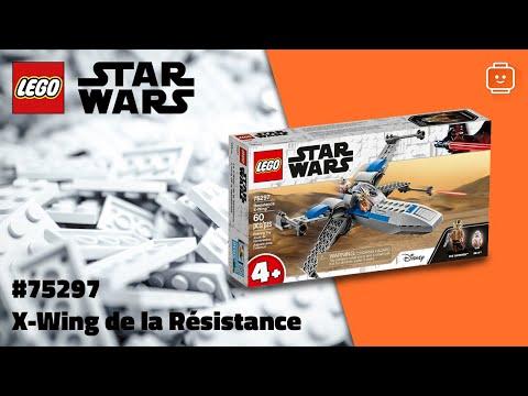 Vidéo LEGO Star Wars 75297 : X-Wing de la Résistance
