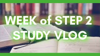 Studying for STEP 2 CK (part 1) | Day In a Life | Med Student VLOG