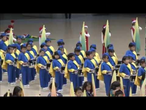 金の星幼稚園 鼓笛隊 2016年度 年長