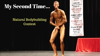 Mens Natural BodyBuilding Contest|My Second Show|