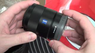 Sony Carl Zeiss Sonnar T* E 24mm F1.8 (SEL24F18Z) Unboxing