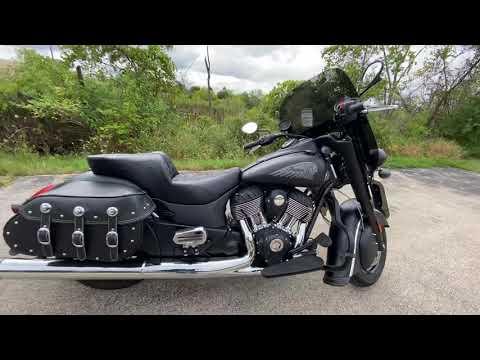 2016 Indian Chief Dark Horse® in Muskego, Wisconsin - Video 1