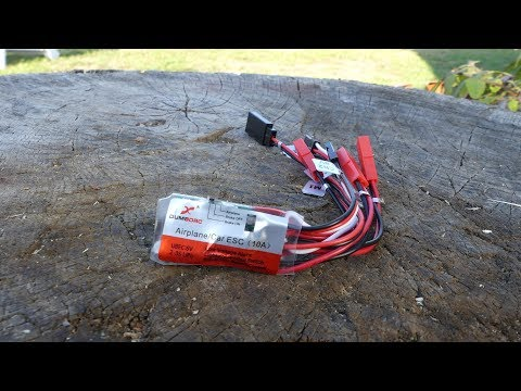 DumboRC 10A ESC - Switch, buzzer connection, 2s/3s and airplane mode