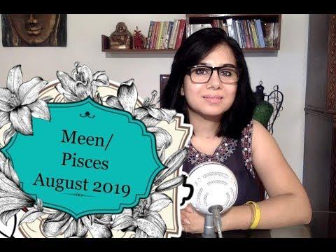 Meen Rashi/ मीन राशि August 2019 rashiphal Pisces - Thủ thuật
