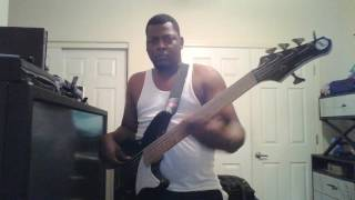 rock wit'cha bobby brown bass cover
