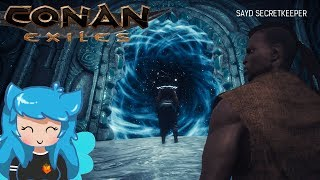 LEGENDARY TASKMASTER/ALCHEMIST/COOK ALL IN 1 LOCATION | Conan Exiles | Episode 14