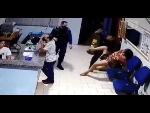 Mulher é agredida por policial com socos e chutes em um Batalhão da PM de Bonito