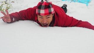 preview picture of video 'RAINING SNOW IN IRBID, JORDAN'