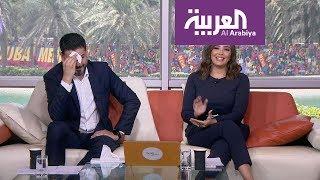 ما الذي أخجل مقدم صباح العربية عادل عيدان؟