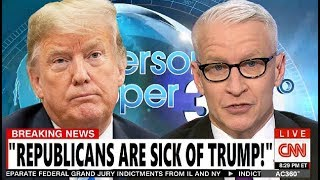 """It's Depressing"" CNN's Anderson ENDS TRUMP CAREER By CALLING OUT Four REPUBLICANS Voting To CONDEMN"