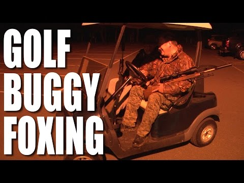 Golf buggy foxing