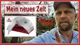MSR Hubba Hubba NX, 2 Personen Zelt, 2021, Mein neues Zelt.