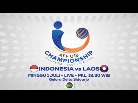 AFF U19 Indonesia Vs Laos - 1 Juli 2018