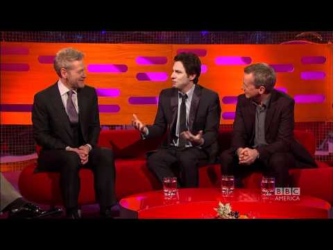 ZACH BRAFF: Weight-Lifting Tips From Schwarzenegger! (The Graham Norton Show)