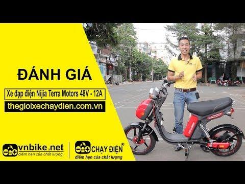 Đánh giá xe đạp điện Nijia Terra Motors