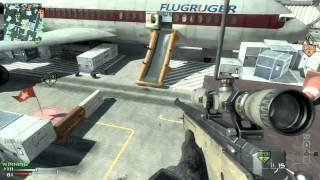 MW3 49-14 L118A Sniper Online Gameplay (Terminal)   HD