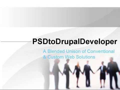 Videos from PSDtoDrupalDeveloper - Drupal Web Development Company