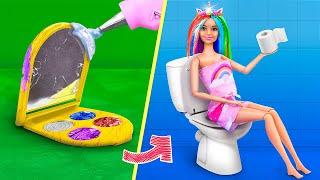12 Miniatur Barbie DIYs für ein Puppenhaus