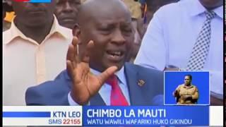 Watu wawili waaga dunia baada ya kuta za chimbo kuporomoka huko Nyeri
