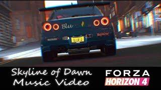 Skyline of Dawn - Forza Horizon 4 Music Video