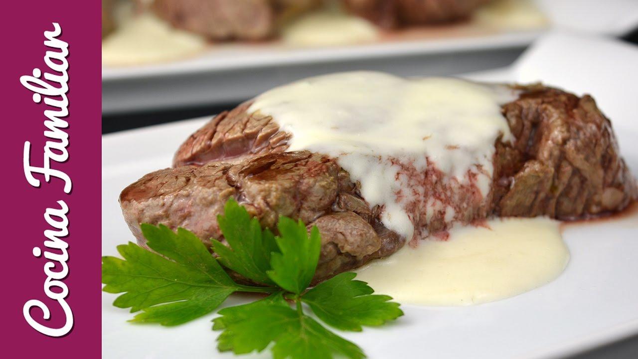 Solomillo con salsa roquefort | Javier Romero
