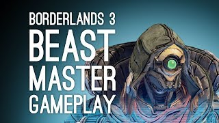Borderlands 3 FLAK Gameplay: Let's Play with New Character FL4K the Beastmaster