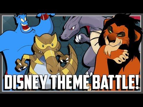 Pokemon Theme Battle - Disney Characters! Ft. Original151