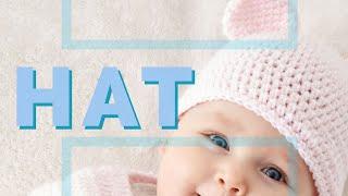 Crochet Baby Teddy Bears Hat Pattern