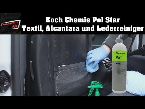 Koch Chemie Pol Star im Test Sitze reinigen- Textil Alcantara Lederreiniger