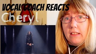 Vocal Coach Reacts To Cheryl Love Made Me Do It The X Factor Uk 2018