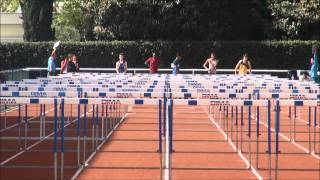 preview picture of video 'Meeting de Maisons-Alfort - 110m Haies Série 1 - 6 avril 2014'