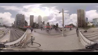 CicLAvia in 360 Virtual Reality