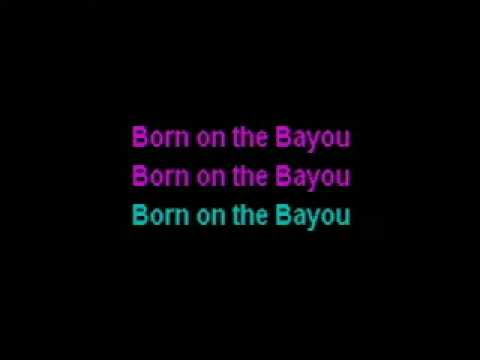 karaoke ccr born on the bayou avi xvid