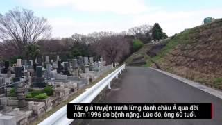 Clip thăm mộ tác giả Doraemon gây xúc động