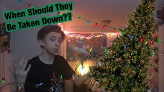 When Should You Take Down Your Christmas Decorations?