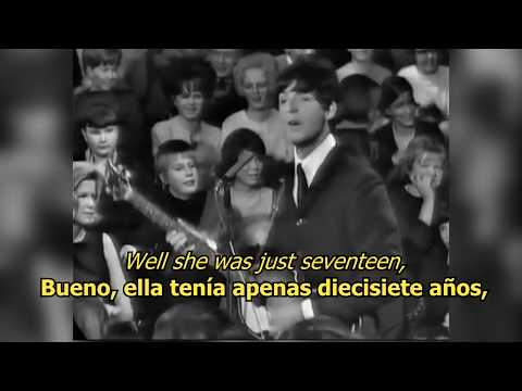 I saw her standing there - The Beatles (LYRICS/LETRA) [Original]