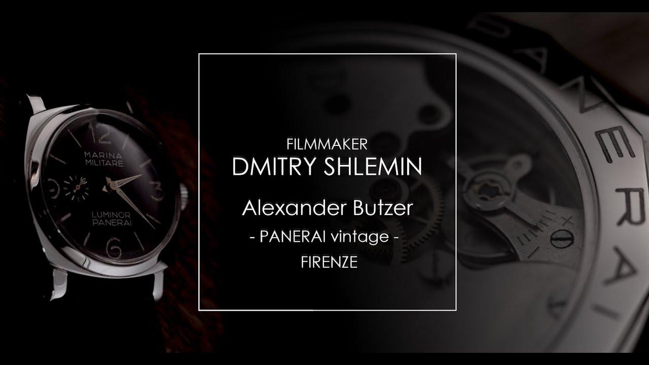PANERAI Dmitry Shlemin Filmmaker Дмитрий Шлемин +79261271277 4K
