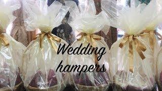 DIY WEDDING GIFT BASKET | HOW TO MAKE HAMPERS