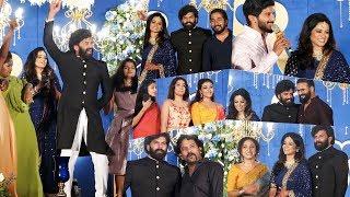 വമ്പൻ താര നിരയിൽ ആഘോഷമാക്കി സണ്ണി വെയ്നിന്റെ വിവാഹ റിസപ്ഷൻ | Sunny Wayne Wedding Reception