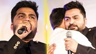 """I'm Sorry for all my Mistakes"" | Simbu Emotional Speech on Dhanush | Sakka Podu Podu Raja |TN 675"