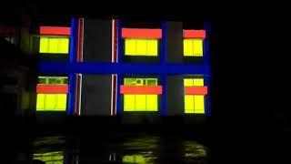 Video Mapping Gedung Rektorat Universitas Majalengka 2018 [full video]