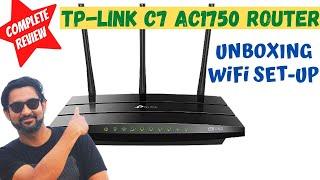 ✅ TP Link Archer C7 AC1750 Router  Unboxing, Configure, Setup & Review   Best WiFi Router under 5000