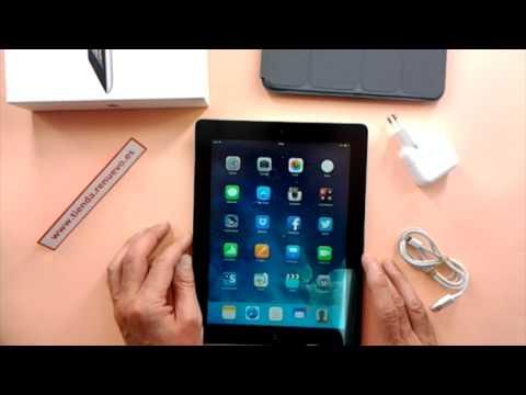 Comprobación del estado y funcionamiento de un iPad de segunda mano