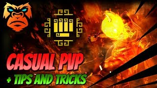 Striker Vs Kuno | Casual PvP + Tips and Tricks! | Battle Arena | Black Desert Online Gameplay